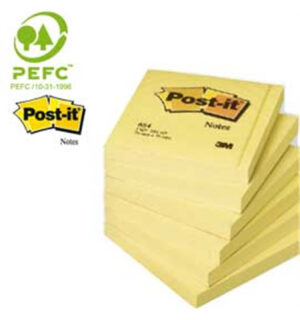 12-blocchi-100fg-post-it®giallo-canary-76x76mm-654