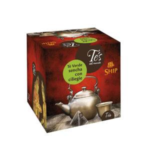 Filtri Tè Verde Senchà con Ciliegia