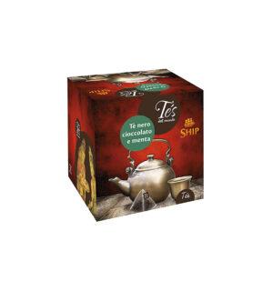 Filtri Tè nero cioccolato e menta