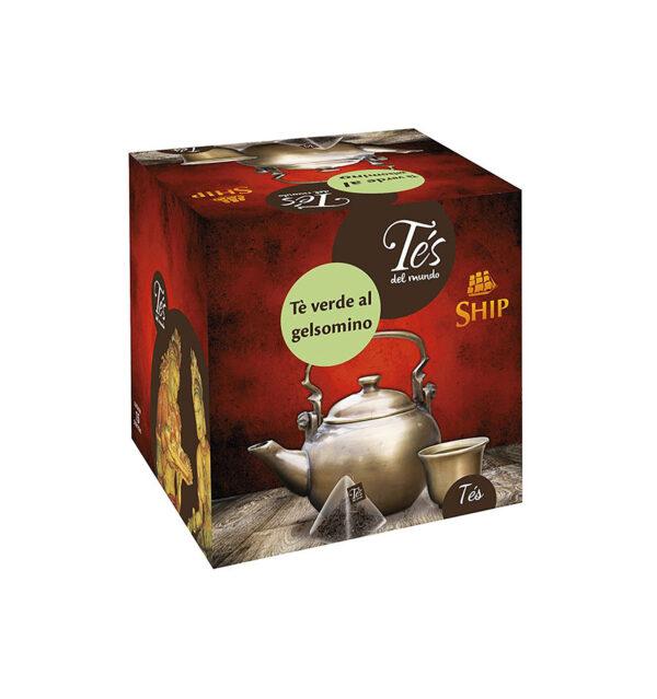 Filtri Tè verde con gelsomino