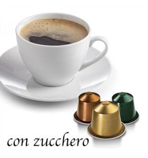 caffè-capsule-comp-nespresso con zucchero