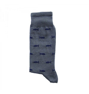 calze-uomo-corte-pesci grigio