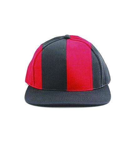 cappello-baseball-bicolore-rossonero